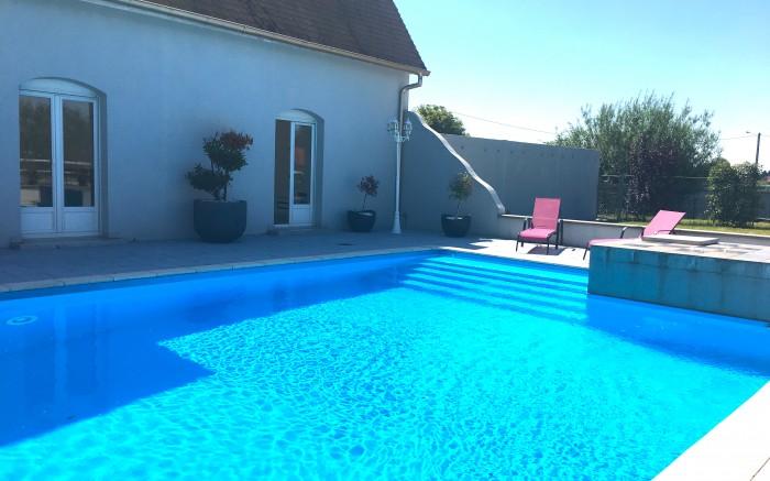 piscine vue latérale
