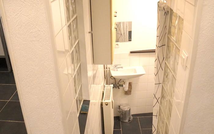 accès salle d'eau