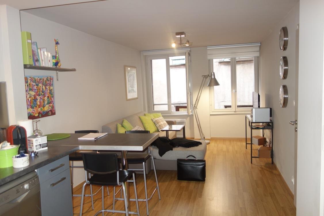 espace ouvert salon
