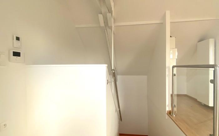 entrée escalier privatif