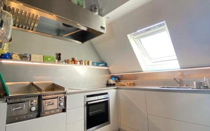 cuisine équipée et meublée